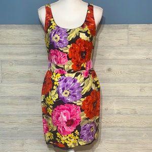 Banana Republic floral sheath dress